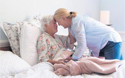 Só kan versorgers verseker dat  hul bejaarde geliefdes veilig is wanneer hulle 'n blaaskans neem